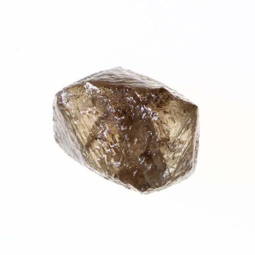 Crystal Shape 1.19 Carat Light Brown Color SI3 Clarity Nice Natural Raw Diamond