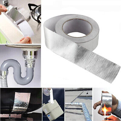 Strong Waterproof Tape Aluminum Foil Tape Insulation 200 High Heat 25mx48mm