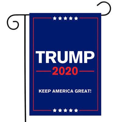 """Trump 2020 Garden Flag Political Campaign 12.5"""" x 18"""""""