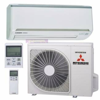 3.5 KW Mitsubishi Reverse Cycle Inverter Air Condioner Hope Island Gold Coast North Preview