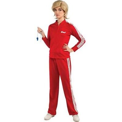 Damen Erwachsene Glee Joggen oder Trainingsanzug Trainer Kostüm
