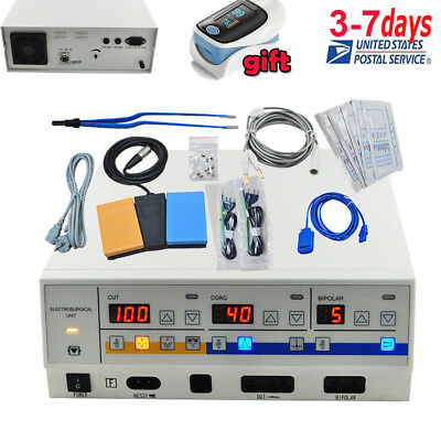 100w Electrosurgery Unit With Electrodes Dental Cutting Unit With Electrodes