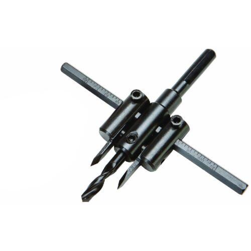 "7/8""-5"" Adjustable Circle Hole Cutter Wood Drywall Drill Bit"