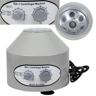 Electric Centrifuge Machine Lab Medical Practice 110v 800-1 4000 Rpm Lower-speed