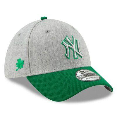 Saint Patrick Day Hats (New York Yankees New Era 2019 St. Patrick's Day Change Up Redux 39THIRTY)