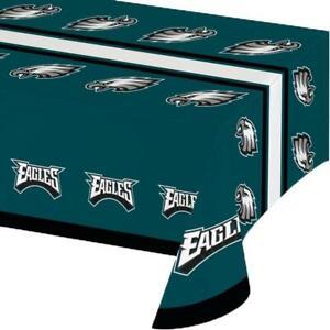 Philadelphia Eagles Plastic Table Cover (New)