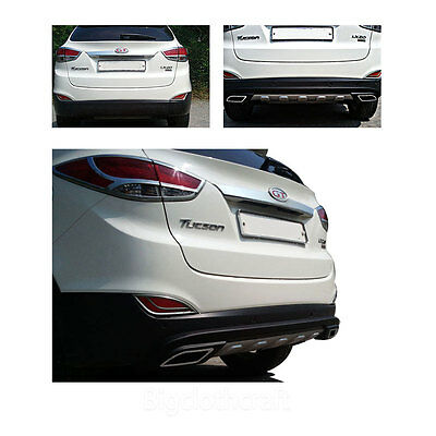 New Rear Diffuser Black Matt for Hyundai Tucson iX35 2011 - 2013