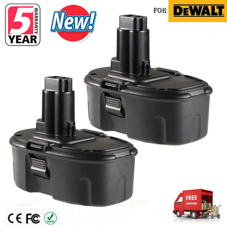 2x 18V 18VOLT Ni-CD Battery for DeWALT DC9096 DW9095 DW9096