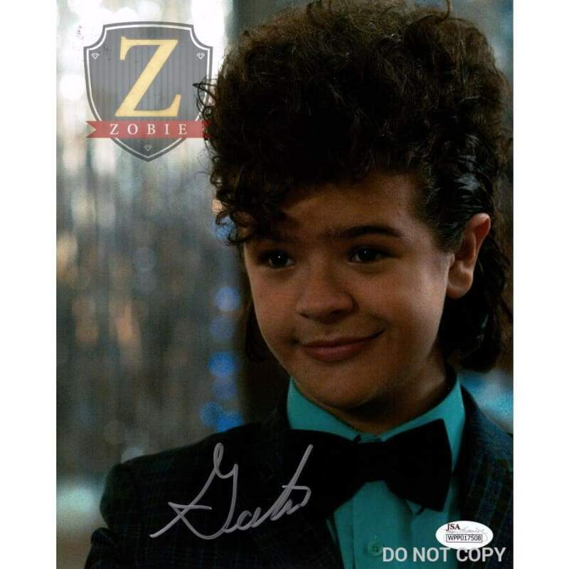 Gaten Matarazzo Autograph 8x10 Photo Stranger Things Dustin JSA COA