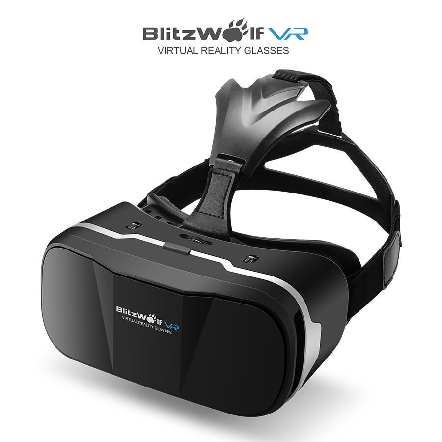 BlitzWolf BW-VR3 3D VR Glasses Virtual Reality Headset for iphone Samsung HTC