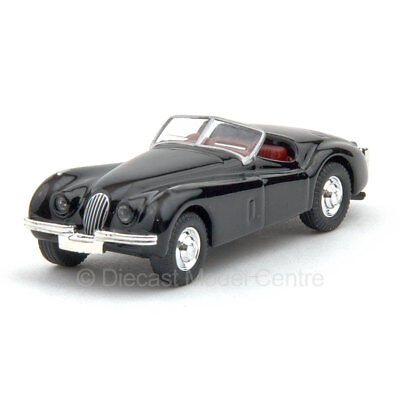 Jaguar XK120 black Schuco 1:87 scale diecast model car