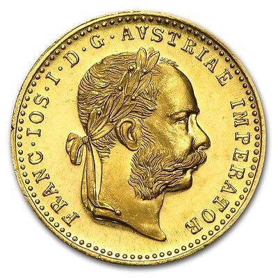 Austria 1915 Gold Ducat Coin - Prooflike - SKU #152366