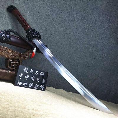 Fighting Sword - Fighting Dragon&Tiger Saber Dao Broadsword Sword Sharp High Manganese Steel Blad