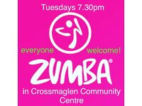 ZUMBA Fitness classes in CROSSMAGLEN