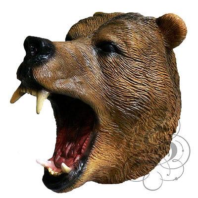 ere Realistische Bär Kostüm Geschnürt Partei-masken (Realistische Tier-kostüme)