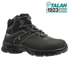 NEW MENS LEATHER STEEL TOE CAP SAFETY WORK ANKLE HIKER TRAINERS SHOES BOOTS SIZE