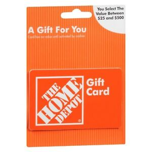 Home Depot Gift Card/ In-Store Credit - $265