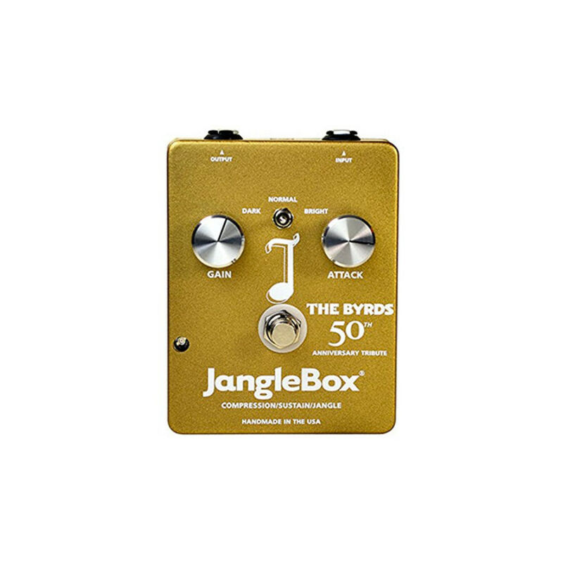JangleBox The Byrds 50th Anniversary Compressor Sustain Effects , New!