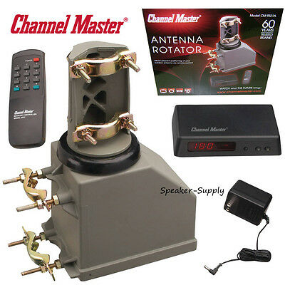Channel Master TV Motorized Antenna Rotator System Controller Remote HAM CB 9521