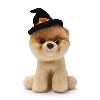 RETIRED GUND  DOG - POMERANIAN  - ITTY BITTY  BOO  -   WITCH HAT -  NWT