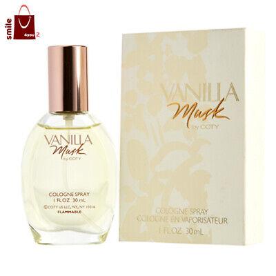 Perfumes / Colognes Vanilla Cologne (Vanilla Musk Perfume by Coty Women Fragrance Eau De Cologne Spray 1oz 30ml EDC )