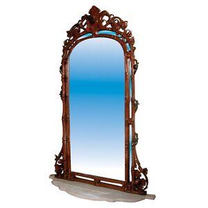 484-Antique-Alexandre-Roux-Mirror-Marble-Console