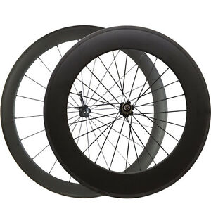 60mm-88mm-clincher-carbon-road-bike-wheels-700C-carbon-bicycle-cycling-wheelset