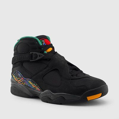 reputable site 95632 f7387 Nike Air Jordan Retro VIII 8 Tinker Air Raid 2 Black 305381-004 Men GS