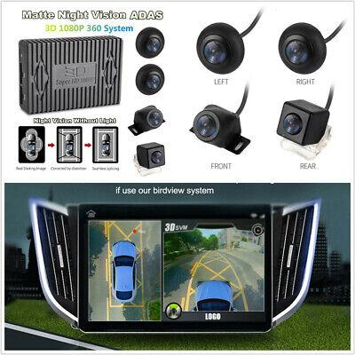 360° Panoramic View Super HD 1080P 4CH DVR Recorder ADAS G sensor Quad-Core CPU