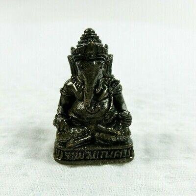 Magic Ganesha Oriental Thai Amulet Buddha Lucky Protect Miniature Asian Gift