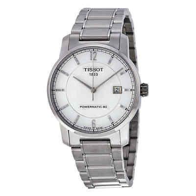 Tissot T-Classic Titanium Automatic Silver Dial Men's Watch T0874074403700