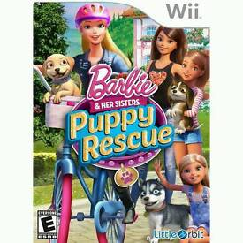 Brand new factory sealed wii Barbie game