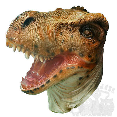 Latex Full Head Tyrannosaurus T-Rex Dinosaurs Reptile Fancy Carnival Party Masks for sale  Shipping to Canada