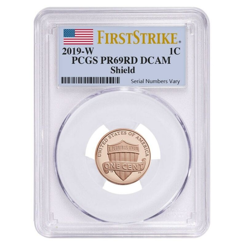 Sale Price - 2019 W Proof Lincoln Penny Cent Comm. PCGS PF 69 FS
