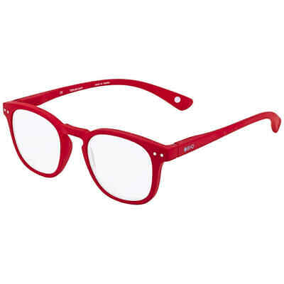 B+D Dot Reader Matt Red +3.00 Eyeglasses 2240-14-30 2240-14-30