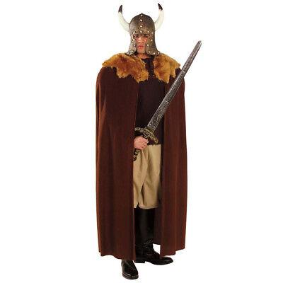 WIKINGER MANTEL Cosplay Vikinger Barbar Kelte Wilder Krieger Kostüm Umhang (Barbar Krieger Kostüm)