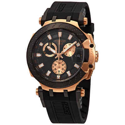 Tissot T-Race Chronograph Quartz Black Dial Men's Watch T1154173705100 ()