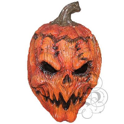 Halloween Evil Pumpkin Overhead Latex Horror Movie Dress Costume Party Masks