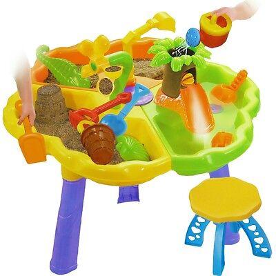 Spieltisch Wassertisch Sandkasten Sandkastentisch Sandtisch Garten Spielzeug NEU