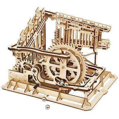 Robotime Marble Squad LG502 Holz Kugelbahn Bausatz Murmelbahn Rollbahn 3D Puzzle