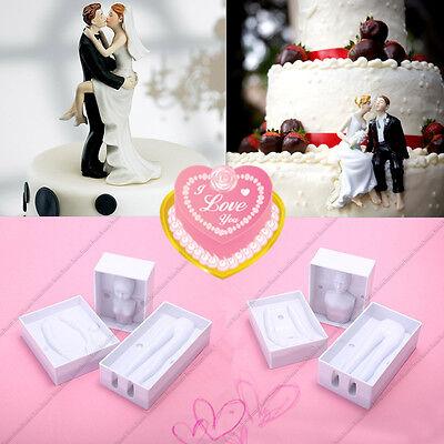 Wedding Baking (Wedding Cake Tools 3D Couples Men & Lady Body Doll DIY Baking Fondant Cake)