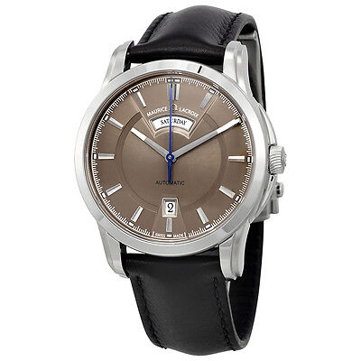 Maurice Lacroix Pontos Day & Date Silver Dial Automatic Mens Watch