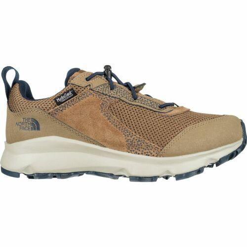 NIB Kids North Face Hedgehog Hiker II WP Shoes Size 1  Brown/Blue FREE SHIPPING!