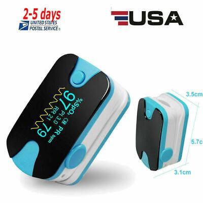 Color Oled Fingertip Pulse Oximeter With Audio Alarm Pulse Sound-spo2 Pr Pi Rr