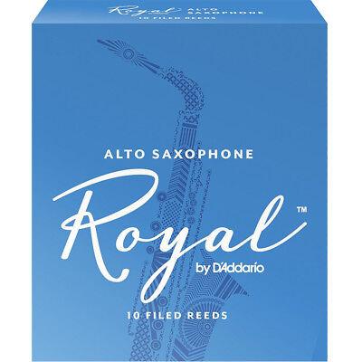 New Unopened Vintage Box of 10 La Voz Medium Soft MS Alto Saxophone Sax Reeds