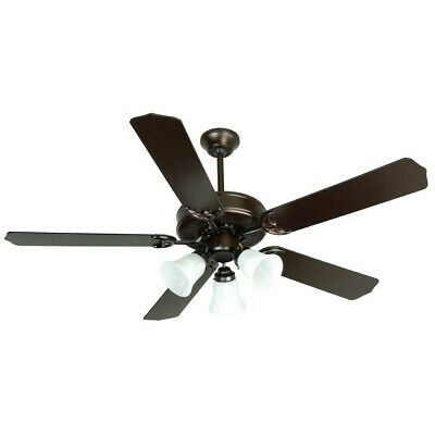 Craftmade Ceiling Fan, Oiled Bronze CD Unipack w/ 52