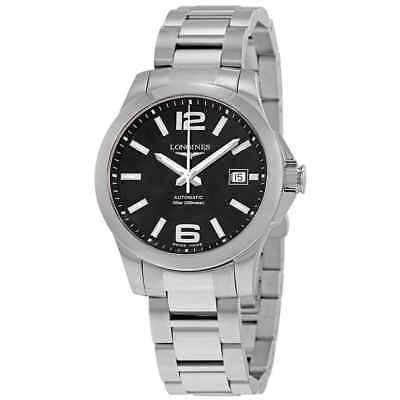 Longines Conquest Automatic Black Dial Men's Watch L3.776.4.58.6
