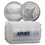 1 oz APMEX Silver Round .999 Fine (Lot, Roll, Tube of 20) - SKU #74753
