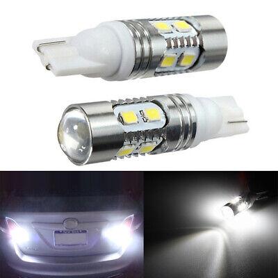 2X 6000K White 921 912 T10  Backup Reverse LED Light Bulb