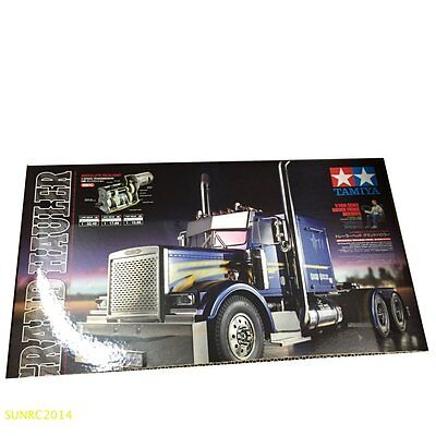 Tamiya 56344 1 14 R C Grand Hauler Tractor Truck Kit On Road New In Box